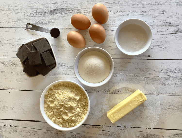 dark chocolate keto cupcake ingredients