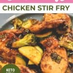 chicken stir fry with broccoli