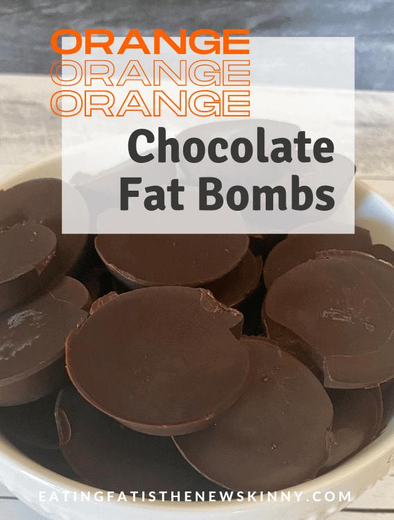 orange chocolate fat bombs pin