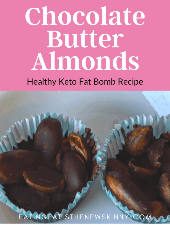 keto chocolate butter almond pins