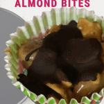 maple almond fat bombs pin