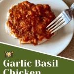 keto garlic basil chicken pin