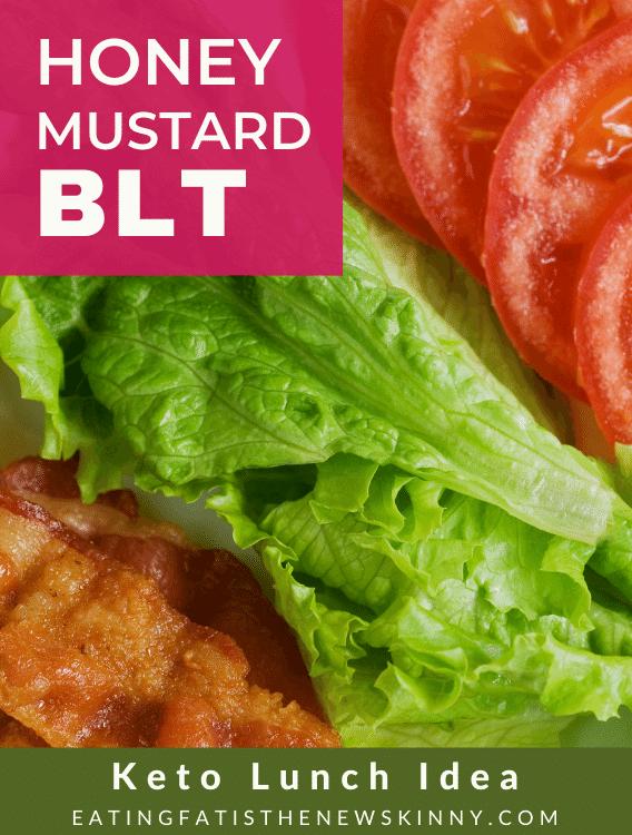 honey mustard BLT lettuce wrap pin