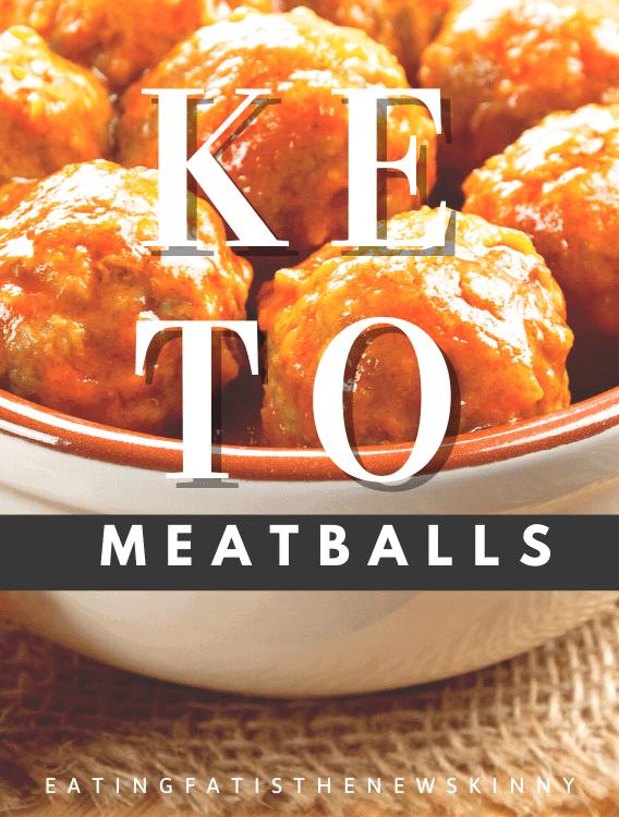 keto meatballs pin
