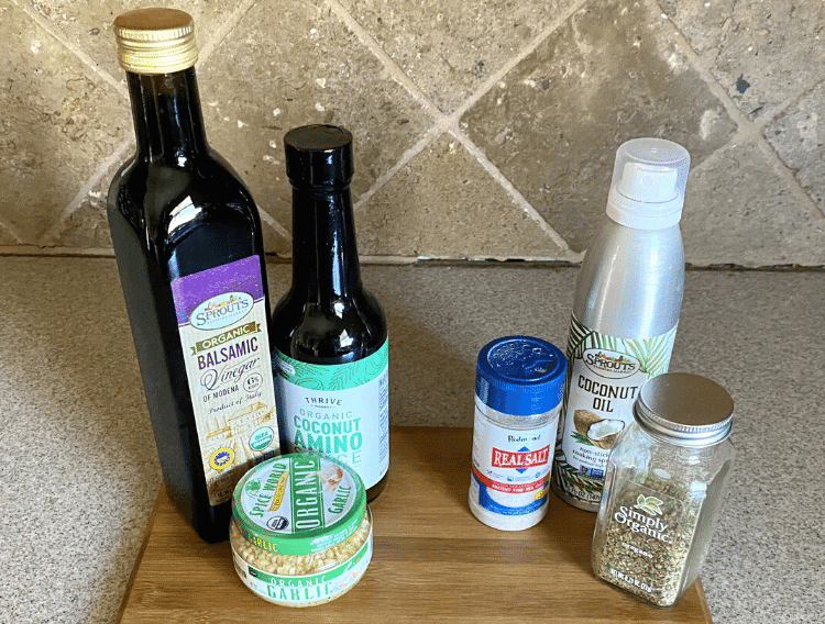ingredients for low carb roast beef