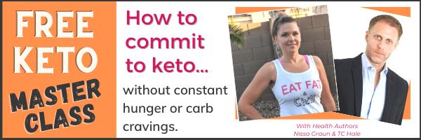 Keto Master Class Ad - Learn 3 Big Mistakes Keto Dieters Make