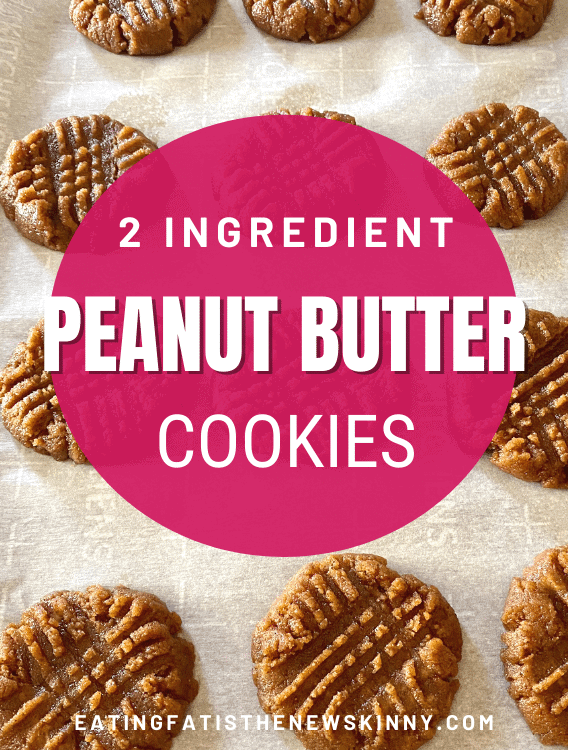 keto peanut butter cookie pin