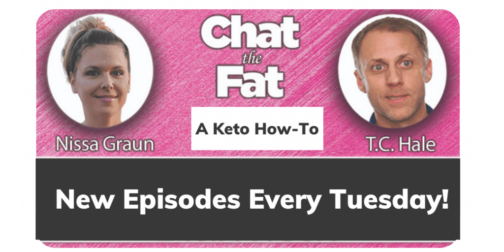Chat the Fat Podcast ad