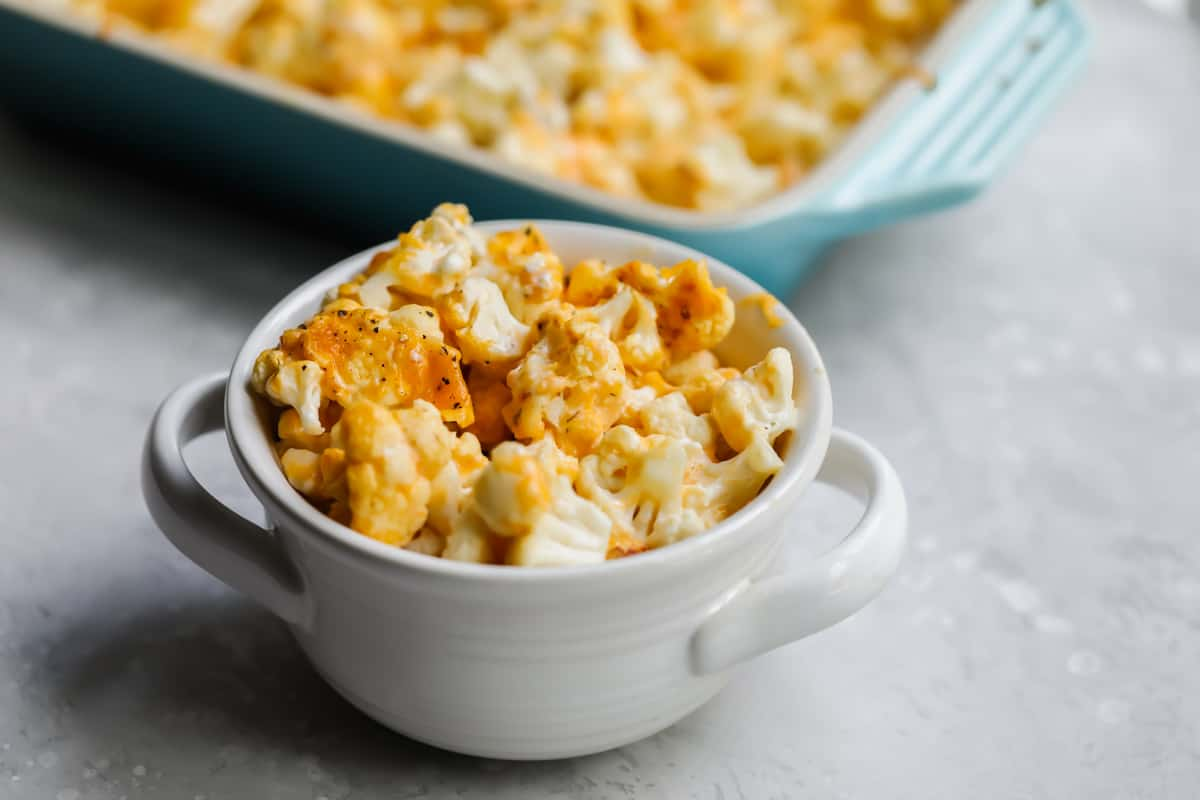 Easy Low Carb Recipe with Cauliflower