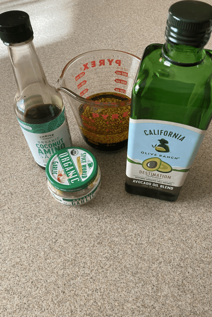 sauce mix for keto garlic butter chicken fajitas