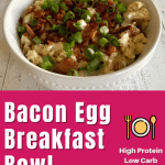 bacon egg breakfast bowl pin 2