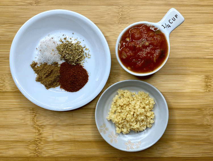 spices for keto mexican cauliflower rice